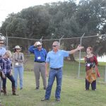Brandon Mathis leads tour of irrigation district operations