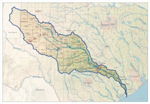 Colorado River Texas Map About The River – COLORADO RIVER ALLIANCE